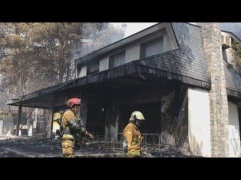 Más de 3.000 hectáreas quemadas en Llutxent y 2.600 evacuados