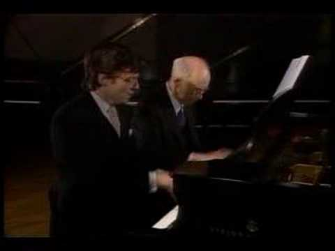 Rudolf and Peter Serkin play Schubert (vaimusic.com)