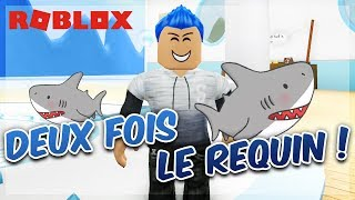 I'M THE SHARK TWICE! Roblox Sharkbite