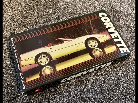 The Chevrolet Corvette VHS - 1988
