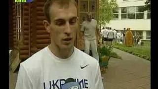 Сборная Украины по боксу перед отъездом на Олимпиаду в Пекин