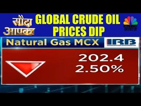 Sauda Aapka | Global Crude Oil Prices Dip | 31st Jan | CNBC Awaaz