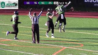 Gambar cover Nichols College Football vs Curry 11 -10-18