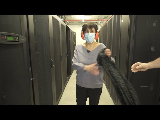 DIPC's Supercomputing Center - Emakumeak Zientzian - Carmen Martín