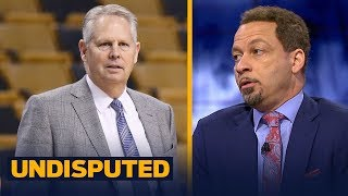 Chris Broussard loves Ainge's comments about the Eastern Conference post-LeBron | NBA | UNDISPUTED