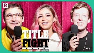 How Many Against The Current Songs Can Chrissy, Dan & Will Name In 1 Minute? - Title Fight