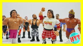 Kids Toy Surprise: 90s Wrestling Figures/Classic wrestling toys match