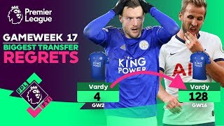 FPL FYI GW17 | BIGGEST FPL TRANSFER REGRETS 😱 | Fantasy Premier League