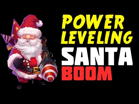 Castle Clash: Santa Boom Gameplay + Power Leveling
