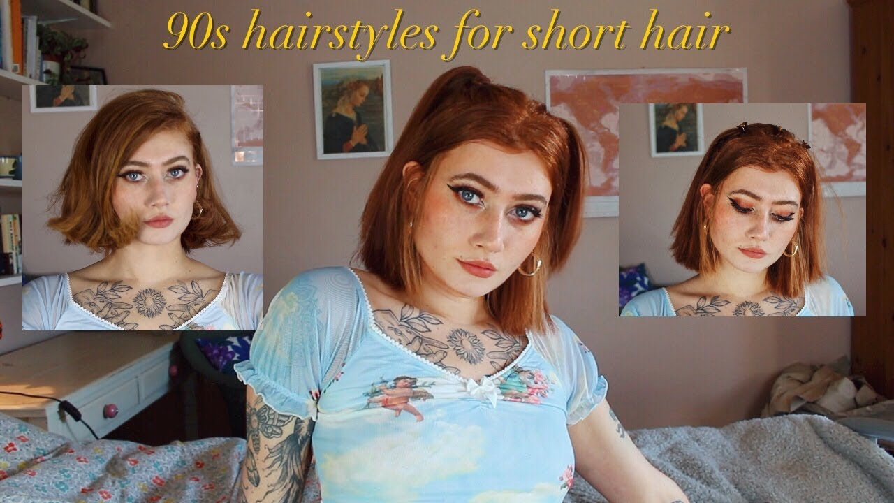 90's hairstyles for short hair || harmony nice