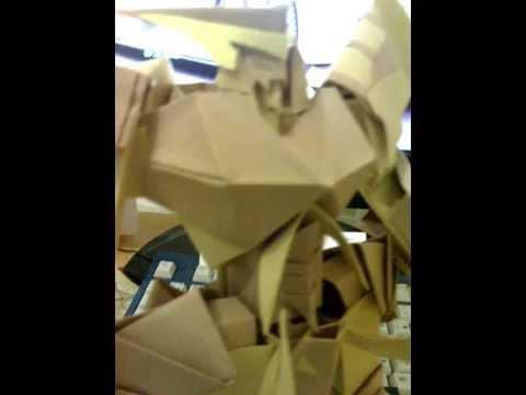 Origami Papercraft Gundam