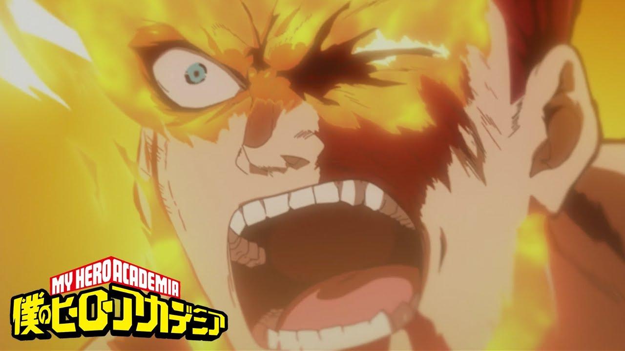 Plus Ultra Prominence Burn My Hero Academia Youtube