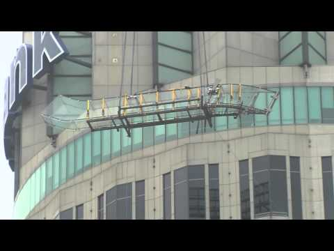 Sky Slide - US Bank Tower, Los Angeles, CA