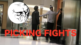 PICKING FIGHTS WITH PEOPLE PRANK (GONE WRONG FIGHT!!!)