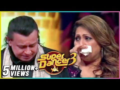 Mithun Chakraborty CRIES On The Sets Of Super Dancer Chapter 3