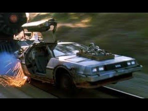 Back To The Future Part III (1990) Train Scene