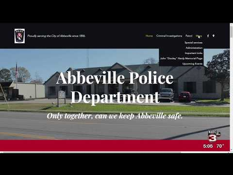 Abbeville Police Department Technology