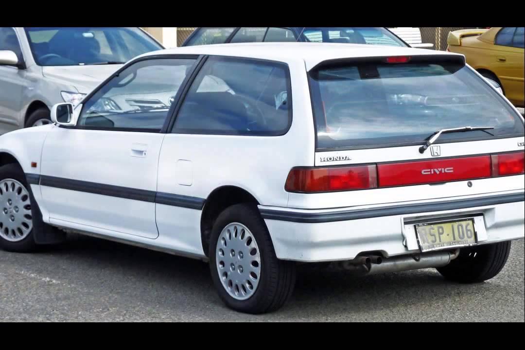 Honda Civic Hatchback For Sale >> 1989 honda civic si hatchback - YouTube