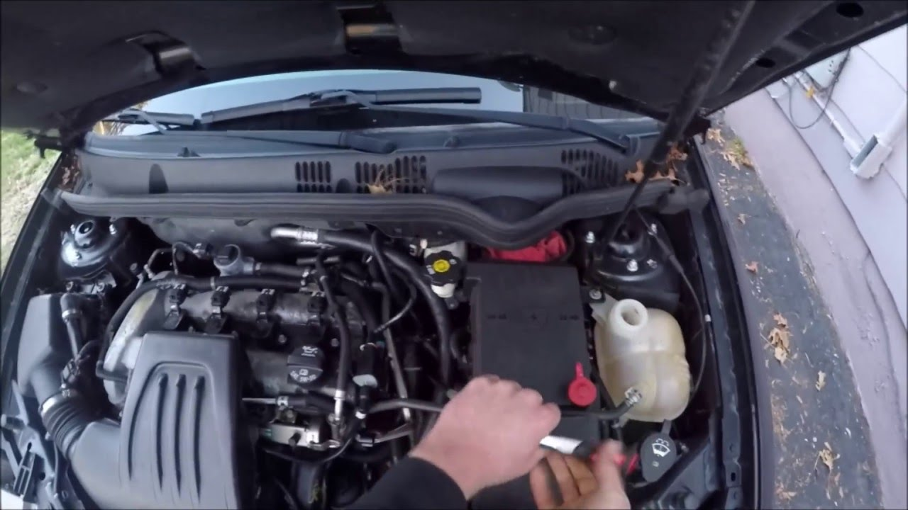 How To Chevrolet Cobalt Thermostat Replacement YouTube