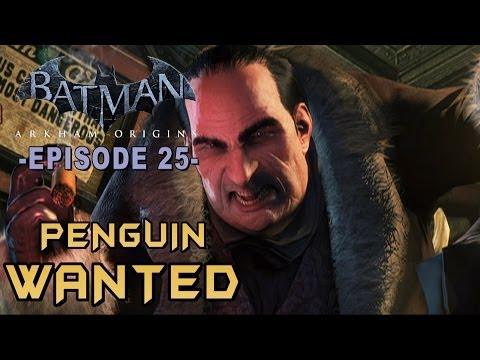 Batman Arkham Origins - Walkthrough Part 25 Penguin Most Wanted Arms Caches Guide!