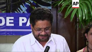 FARC deny they are reason for slow pace of peace negotiations