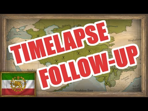 EU4 - Timelapse Follow-Up: Persian Empire MEIOU and Taxes