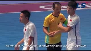 ĐT Futsal Việt Nam đè bẹp Futsal Trung Quốc tại Giải Futsal giao hữu CFA 2018