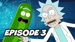 Rick and Morty Season 3 Episode 3 Pickle Rick Easter Eggs and References