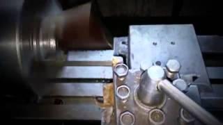 Видео токарных работ часть 2 1