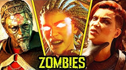 BLACK OPS 4 ZOMBIES: THE MOVIE (Chaos Story) - ALL EASTER EGG CUTSCENES, INTROS AND FULL STORYLINE