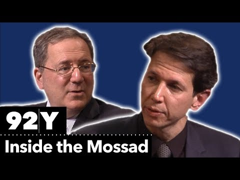 Inside the Mossad: Ronen Bergman in Conversation with David Sanger