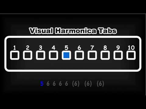 """Harmonica harmonica tabs hallelujah : Hallelujah"""" Visual Harmonica Tabs - YouTube"""