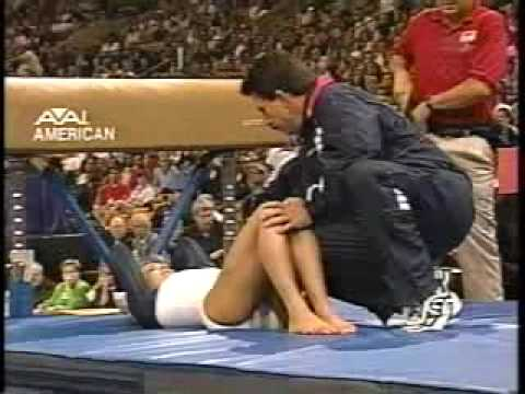 shannon miller 2000 us olympic trials day 2 vault 1