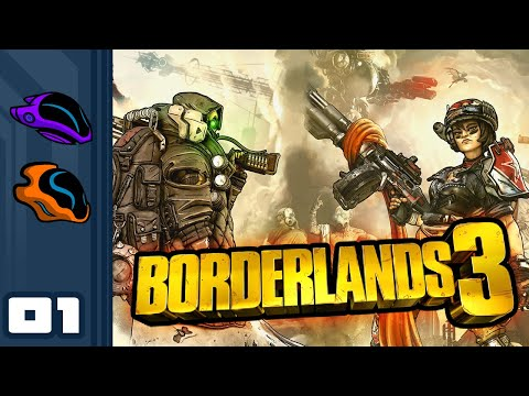 Let's Play Borderlands 3 [Co-Op] - PC Gameplay Part 1 - More Of The Same, But That's Okay