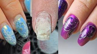 ❤ ОПАСНОСТЬ ❤ ногти на СУПЕР КЛЕЕ ❤ ЭКСПРЕСС дизайн ногтей ❤ ИДЕЯ дизайна КЛИЕНТКИ ❤