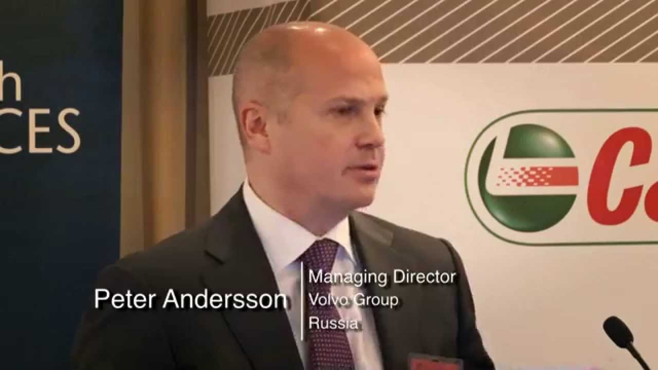 Peter Andersson: Peter Andersson Of Volvo Group Russia At Commercial