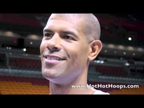 "Shane Battier interview 2012 Miami Heat Media Day, 9/28/12 - ""Flopping is a silent killer."""