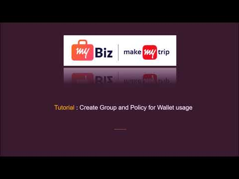 Tutorial : How to recharge the wallet & Create Groups