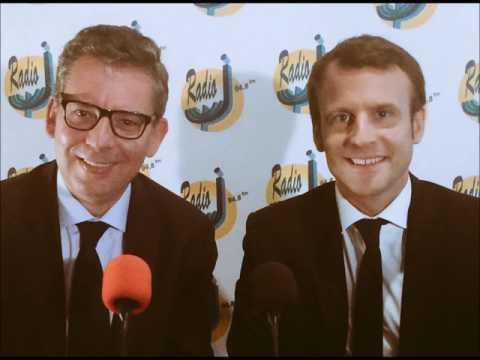 Palestine / Israël : Position de Emmanuel Macron sur radio J
