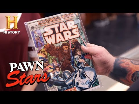 "Pawn Stars: ""Star Wars"" Comic Signed by Fisher, Ford, and Hamill (Season 14) 