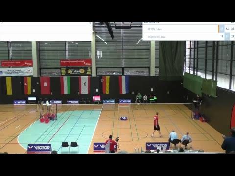 Deutsche Badminton Meisterschaften U15 U17 U19 11.02.2018 - Feld 7+8