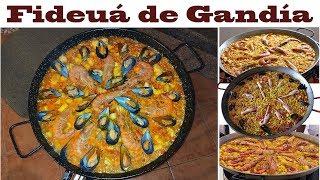 Готовим Фидеуа из Гандии  |  Fideua de Gandia