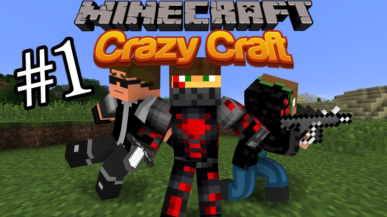 Minecraft crazy craft 2 2 episode 1 i found a girlfriend youtube
