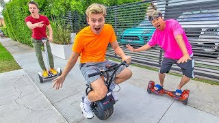 Download LAST TO FALL OFF HOVERBOARD WINS $10,000 Mp3 and Videos