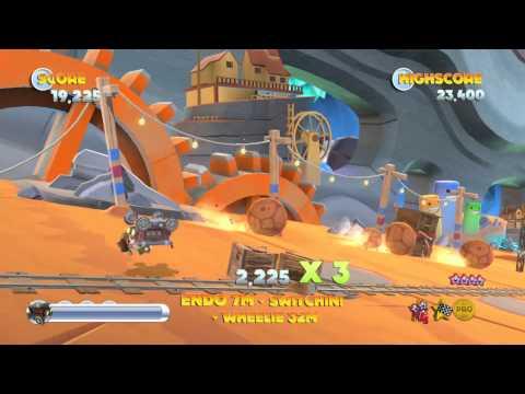 Intel 'Bay Trail' Gaming Tests - Joe Danger 2