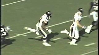 Shannon Sharpe 96 yard TD vs Raiders AFC Championship 2000