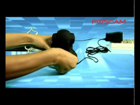 Foscam support: IP-camera Installation Video