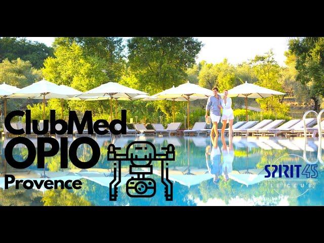 Club Med Opio en Provence image drone exclusif du village