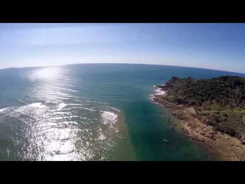 Seventeen Seventy, Captain Cook's Landing, DJI Phantom 2