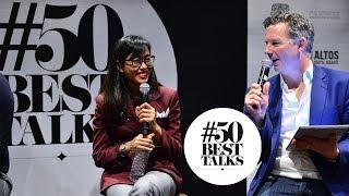 Suwincha Chacha Singsuwan of Rabbit Hole bar Bangkok at #50BestTalks